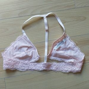 Free People Intimates & Sleepwear - Free people pink T back halter Bralette